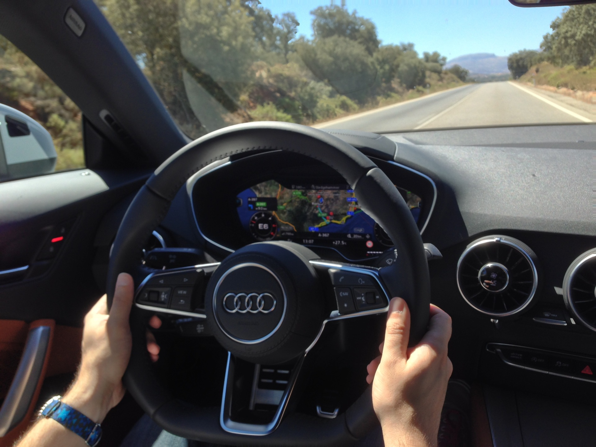 Virtual Cockpit Audi TT