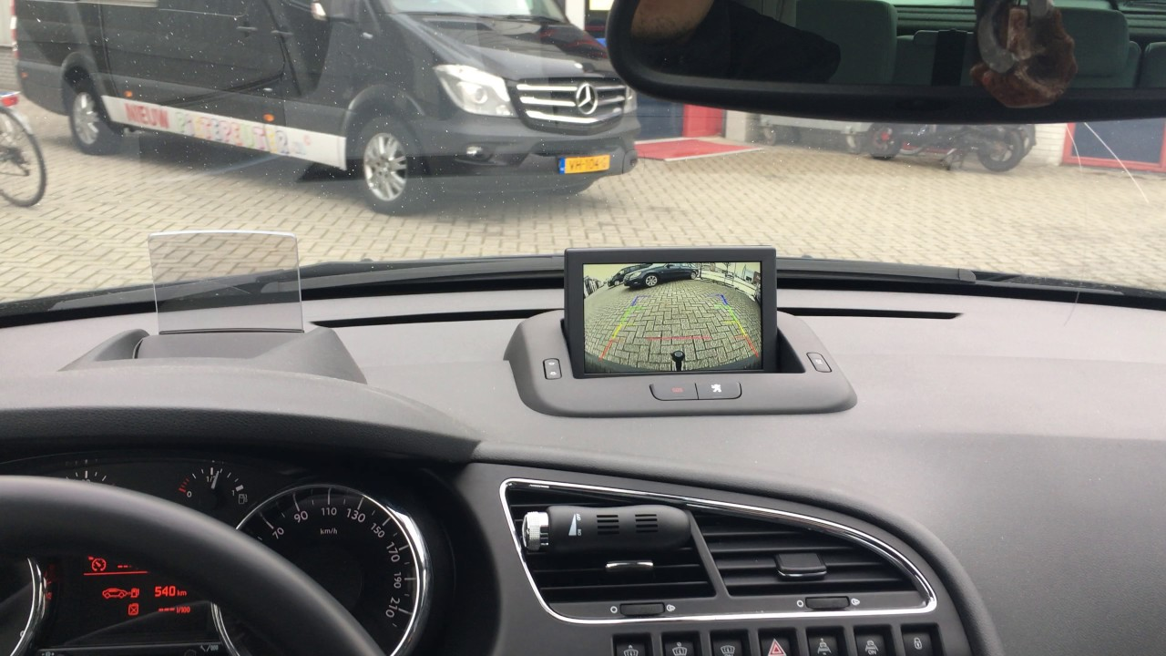 montage autoradio GPS